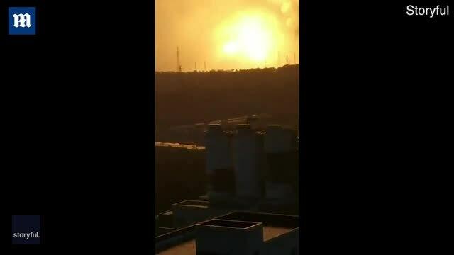 Nổ nhà máy hợp kim nhôm ở Trung Quốc