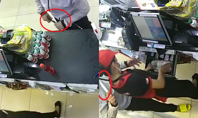 Kẻ cướp kề dao vào cổ đe doạ nữ nhân viên ở Sài Gòn