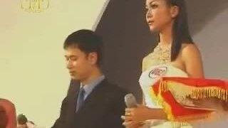 Thanh Hằng thi ứng xử ở HH Người mẫu qua ảnh 2001