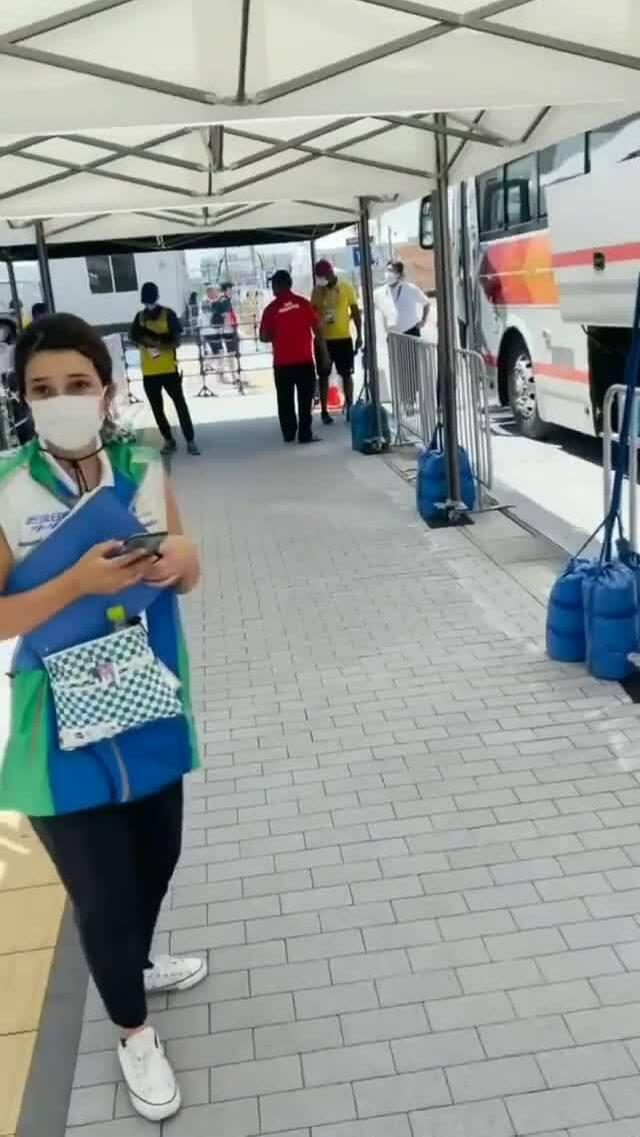 Nhà vô địch Olympic và chuyến taxi 10.000 yen của nữ tình nguyện viên