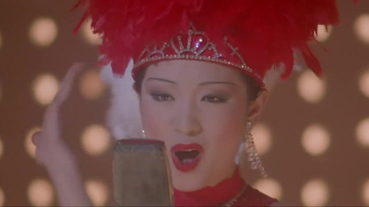 """Củng Lợi đóng """"Hội Tam Hoàng Thượng Hải"""" 1995"""