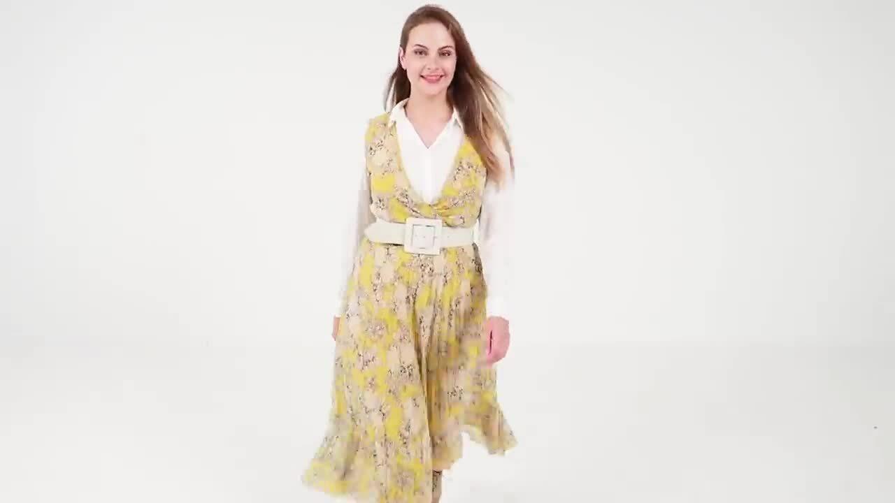 Đủ cách mix một chiếc váy hè cho mùa thu