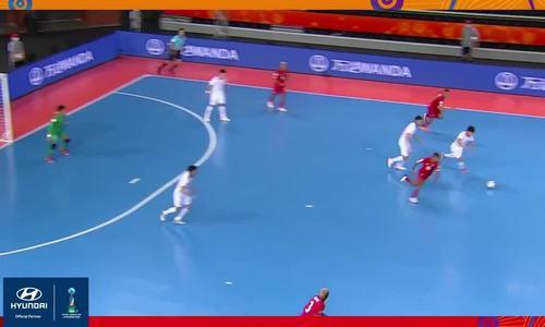 A obra-prima de Van Hugh é a bela Copa do Mundo de Futsal de 2021