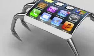 Thiết kế iPhone 5 hình nhện