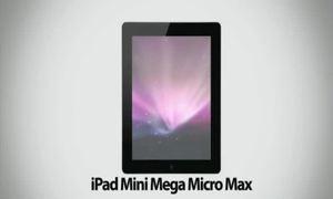 Apple giới thiệu iPad Mini Mega Micro