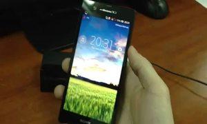 Video đánh giá nhanh Sony Xperia Z
