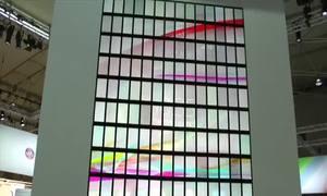 Màn hình được tạo từ 196 chiếc điện thoại Xperia ZL