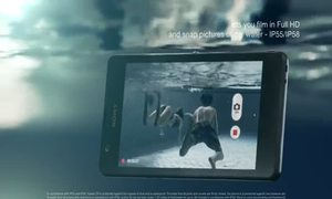 Video thiết kế của Sony Xperia ZR