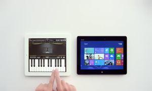 Microsoft lại chế giễu iPad