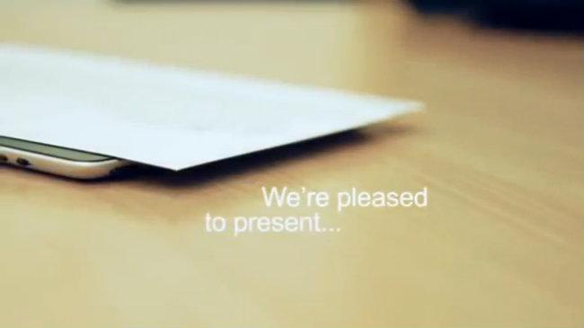 Video giới thiệu bàn phím mỏng nhất thế giới