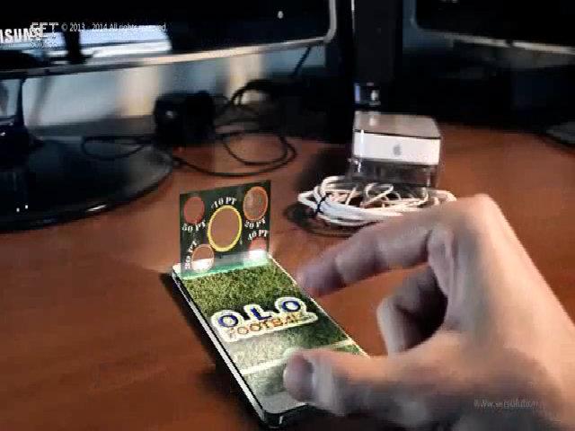iPhone 6 với hình nổi như trong phim viễn tưởng