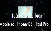 Toàn cảnh sự kiện Apple ra iPhone SE, iPad Pro mới