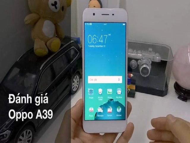 Oppo A39 - Phiên bản thu nhỏ của F1s