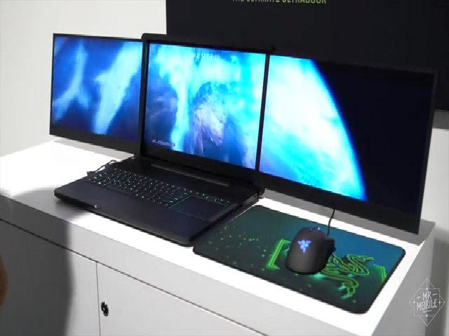 Hai laptop 3 màn hình 4K bị trộm tại CES 2017