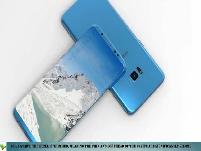 Thiết kế của Galaxy S8 dựa trên thông tin rò rỉ