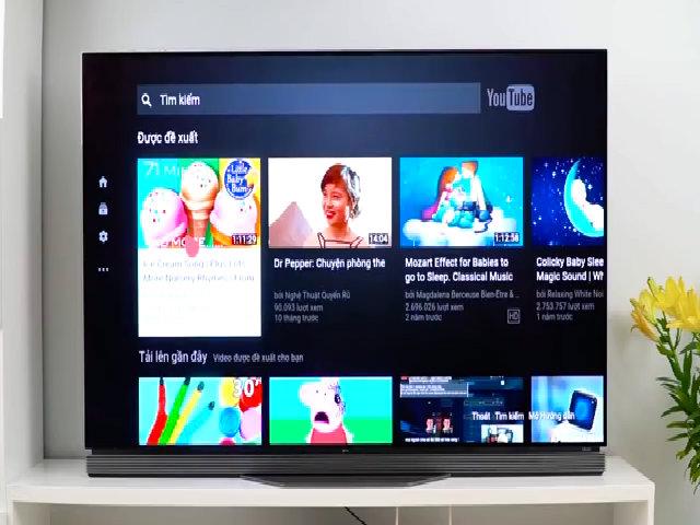 TV thông minh LG hỗ trợ kiểm soát nội dung cho trẻ em