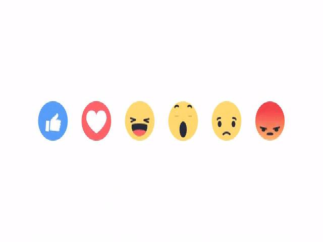 Nút Sad 'nặng ký' hơn nút Like trên Facebook