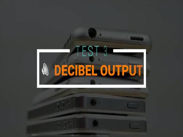 So âm lượng loa ngoài của tất cả 15 mẫu iPhone