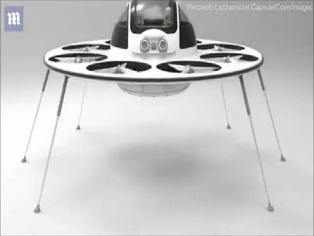 Xe bay hình đĩa bay