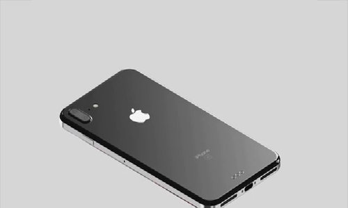 iPhone 8 Plus với camera dọc
