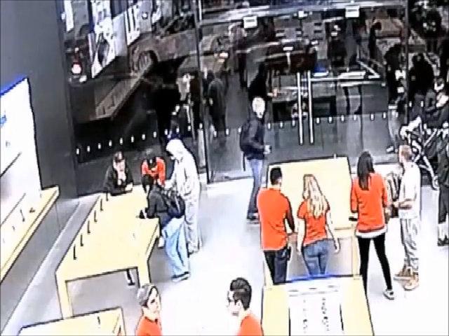 Cửa hàng Apple Store bị cướp hai lần trong 5 ngày