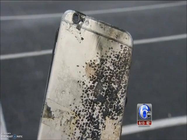 Cháy nổ iPhone trong túi quần sinh viên