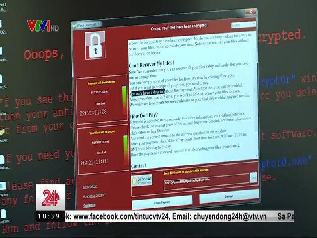 Công ty Việt bị đòi hơn 300 triệu đồng để cứu dữ liệu từ WannaCry