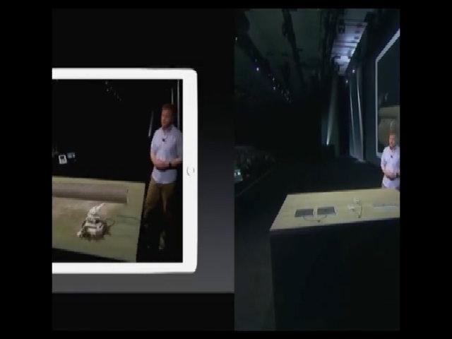 Màn hình diễn AR của Apple