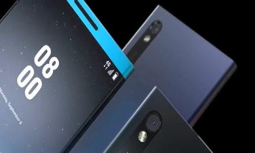 Ý tưởng Nokia Edge màn hình cong