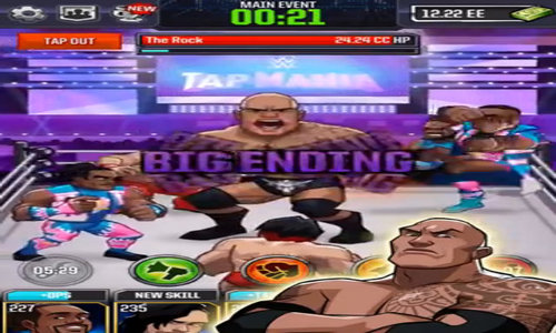 WWE Tap Mania (Android - iOS)