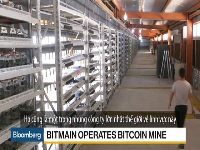 Mỏ Bitcoin khổng lồ ở Trung Quốc