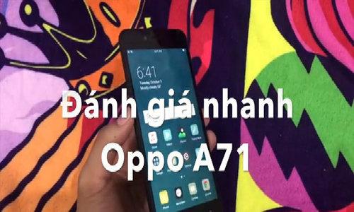 A71 smartphone đầu tiên chạy Android 7 của Oppo