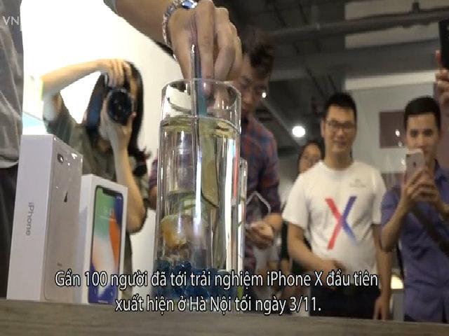 Thử nghiệm nhanh Face ID trên IphoneX