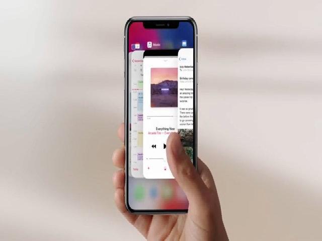 Dùng iPhone X thế nào khi không còn phím Home