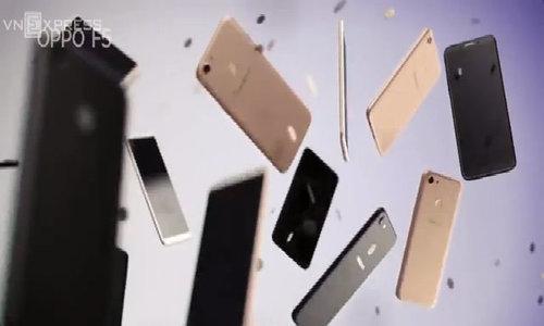 Đánh giá điện thoại Oppo F5