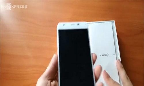 Đánh giá về điện thoại Z5 asanzo