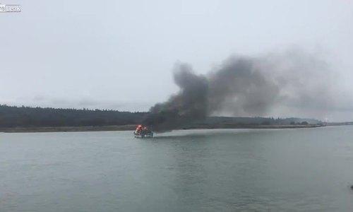 Ngư dân thoát nạn nhờ người chèo thuyền Kayak