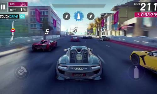 Game đua xe Asphalt 9 sắp phát hành