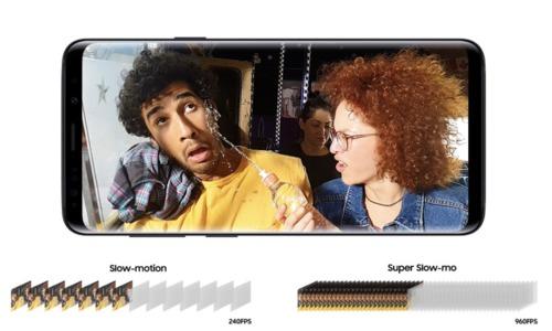 Tính năng Super Slow-motion trên Galaxy S9