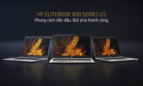 HP EliteBook 800 series G5 - laptop cơ động cho doanh nghiệp