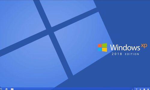 Ý tưởng Windows XP phong cách 2018