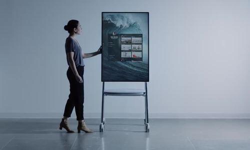 Microsoft ra mắt máy tính bảng kích thước 50,5 inch