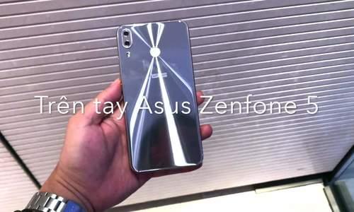 Trên tay Asus Zenfone 5