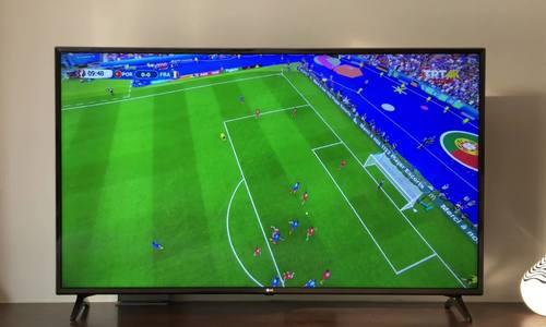 Các tính năng dành riêng cho bóng đá ở 55UK6100