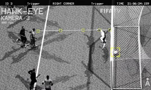 Công nghệ vạch vôi xác định bàn thắng