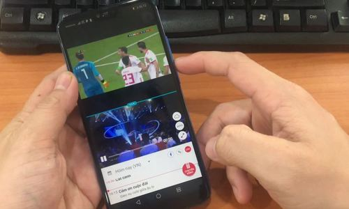 Cách xem hai trận World Cup cùng lúc trên một điện thoại