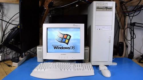 Tự kiếm linh kiện cũ lắp ráp máy tính chạy Windows 98