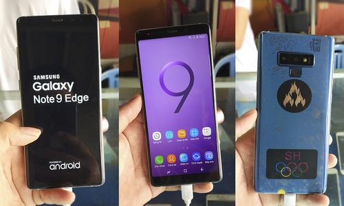 Galaxy Note9, Galaxy S10 hàng nhái giá từ 2,5 triệu đồng