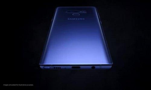 Video Samsung để lộ Galaxy Note9