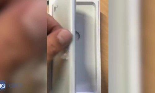 Smartphone 'tai thỏ' đầu tiên của Google lộ video thực tế